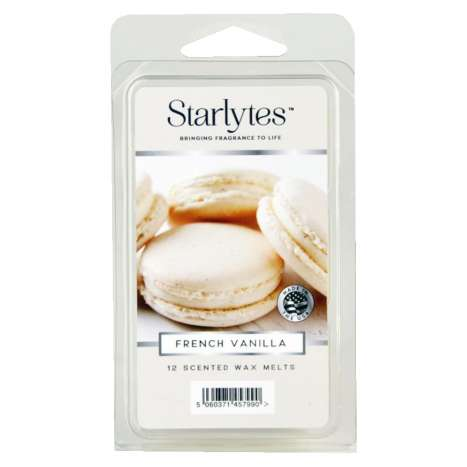 Starlytes 12 cell waxmelts - french vanilla