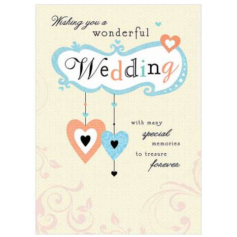 Garlanna Greeting Cards Code 50 - Wedding