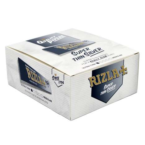 Rizla Silver Super Thin Rolling Papers 32 Pack - King Size