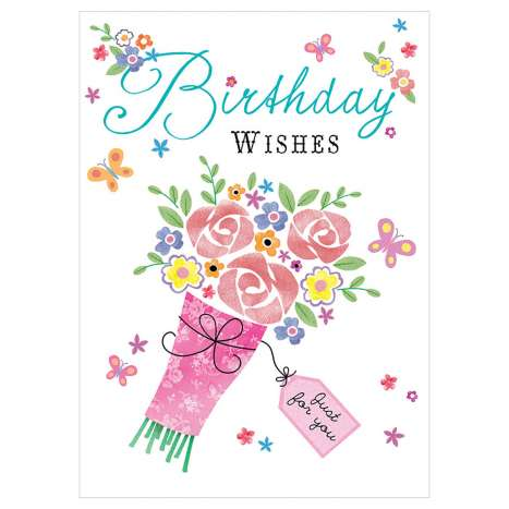 Garlanna Greeting Cards Code 50 - Birthday Wishes