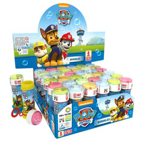 Paw patrol BLUE bubble tubs 60ml