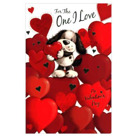 Valentines Day Cards Code 75 - One I Love