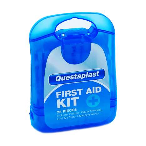 Questaplast First Aid Kit 25 Piece