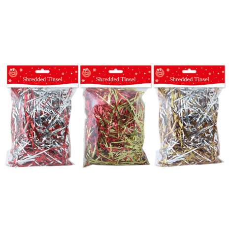 Shredded foil 50g - assorted colours