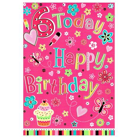 Everyday Greeting Cards Code 50 - Age 6