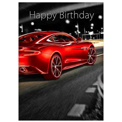 Garlanna Greeting Cards Code 50 - Car