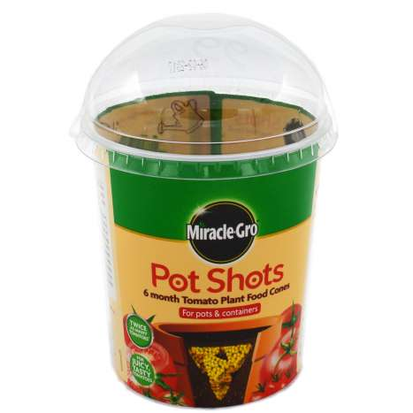 Miracle-Gro Pot Shots Tomato Plant Food Cones 24 Pack - 160g