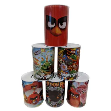 Money tins - Angry birds