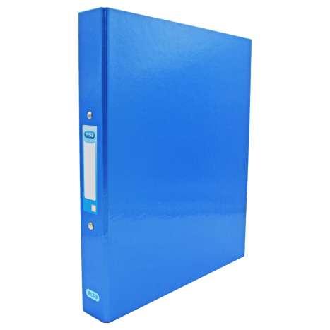 Elba A4 Ring Binder 25mm - Metallic Blue