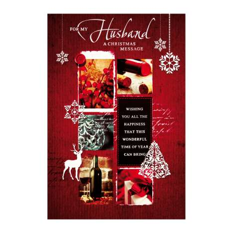 Christmas Cards Code 75 - Husband