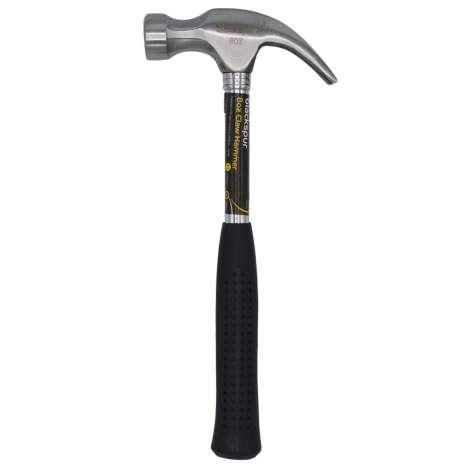 8oz Tubular steel claw hammer