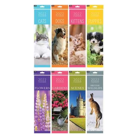 2022 Slim Calendars - Assorted Designs