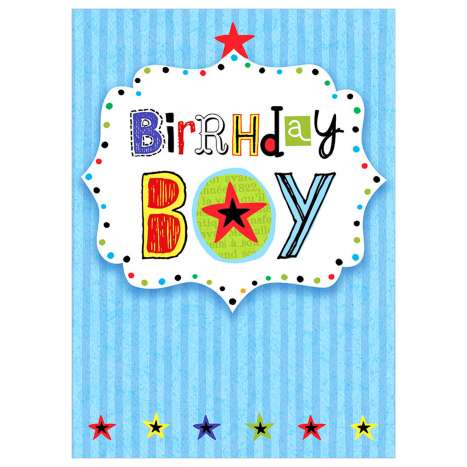 Garlanna Greeting Cards Code 50 - Birthday Boy