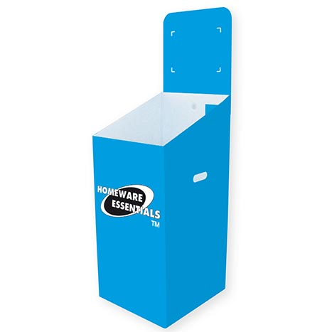 Homeware Essentials Blue Dump Bin