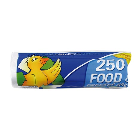 "Food & freezer bags - roll of 250's ( 9"" x 14"" )"