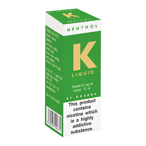 K Liquid Menthol 18mg/ml