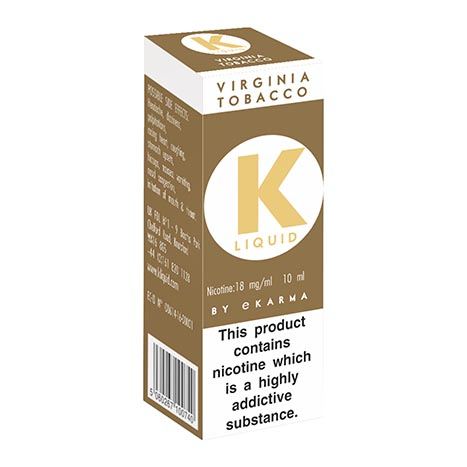 K liquid - virginia tobacco