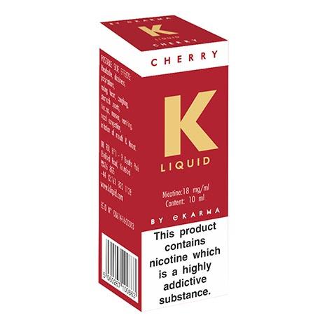 K liquid - cherry