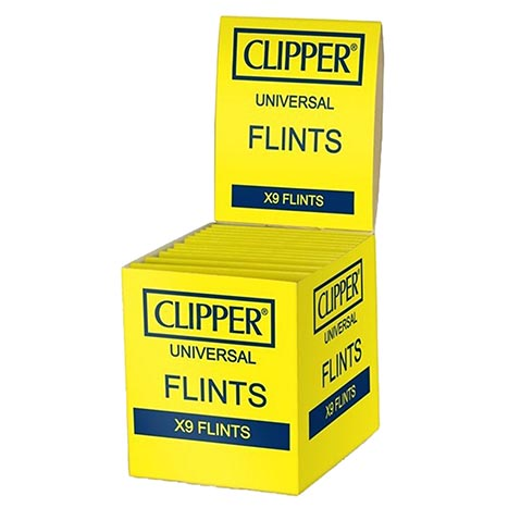 Clipper Universal Flints 9 Pack