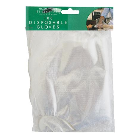 H/ess disposable gloves 100 pack