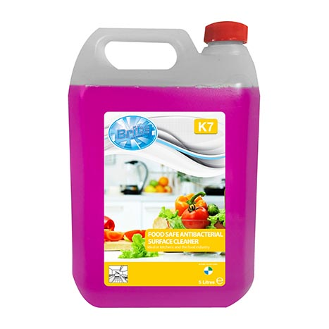 Food safe antibacterial surface cleaner 5ltr