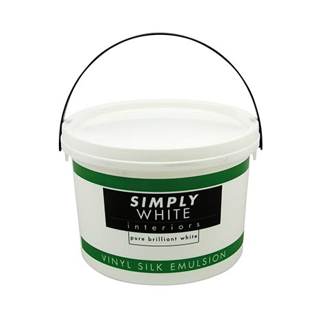 Vinyl silk emulsion white 2.5lt