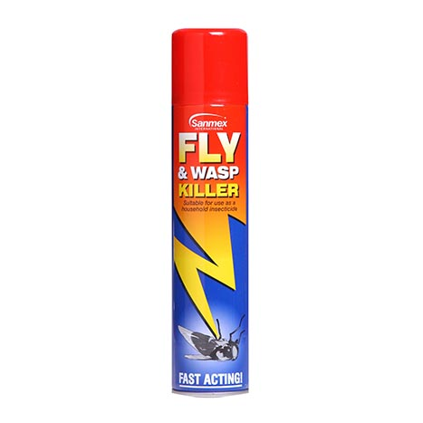 Fly & wasp killer 300ml - sanmex