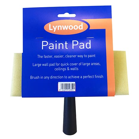 "H/ess paint pad & handle 6"" x 4"" - pa102"
