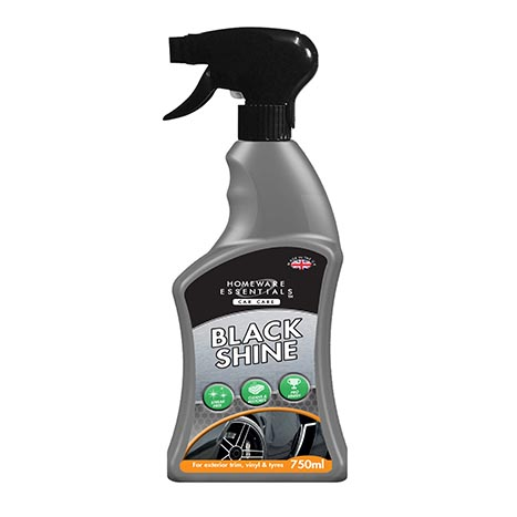 H/ess auto black restorer spray 750ml