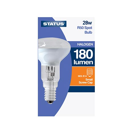 R50 spot bulb *small screw* cap halogen bulb single 28w