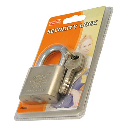 H/ess security lock 50mm
