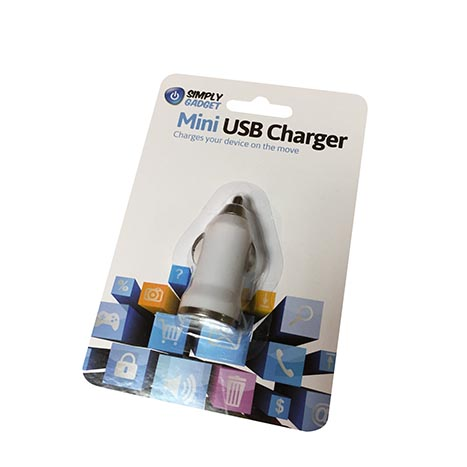 Mini usb charger