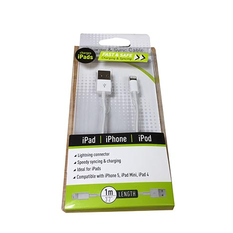 Iphone 5 charging cable 1m