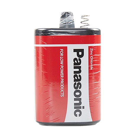 Panasonic lantern battery 6v 4r25/pj996