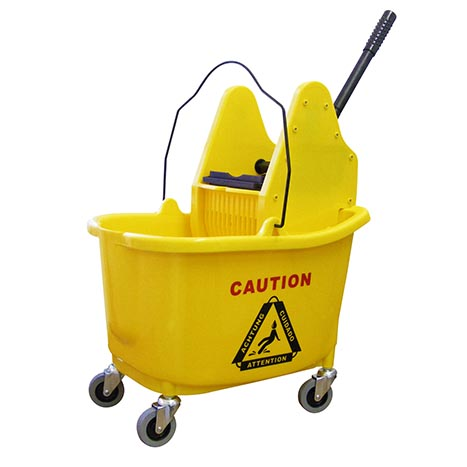 Mopping system 35 litre - yellow