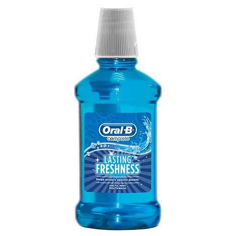 Oral b complete mouthwash 250ml