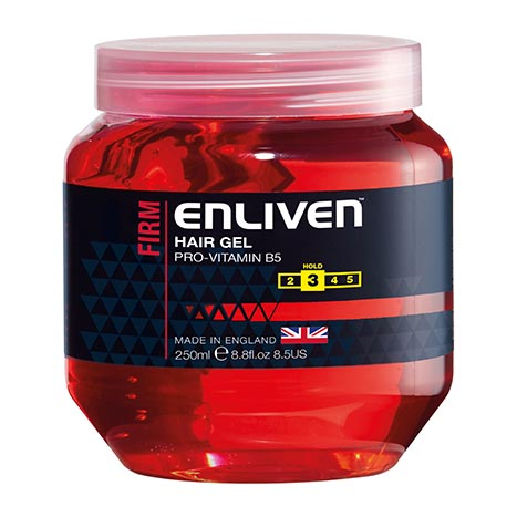 Hair gel firm (red) 250ml - enliven
