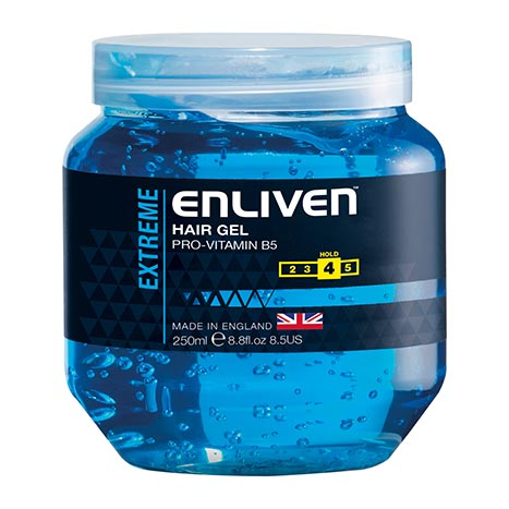 Hair gel extreme (blue) 250ml - enliven