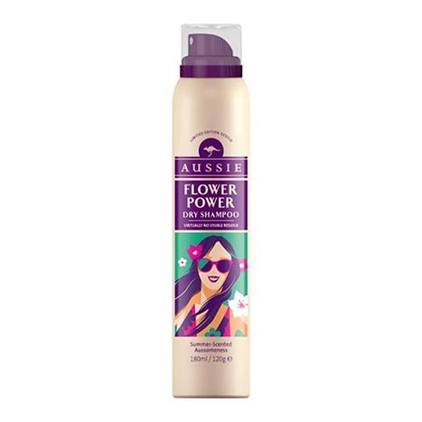 Aussie dry shampoo - flower power 180ml