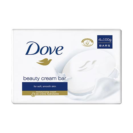 Dove cream soap bar 4pk