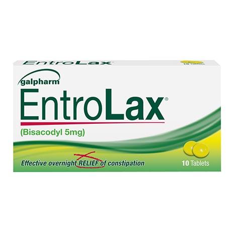 Entrolax 10 tablets