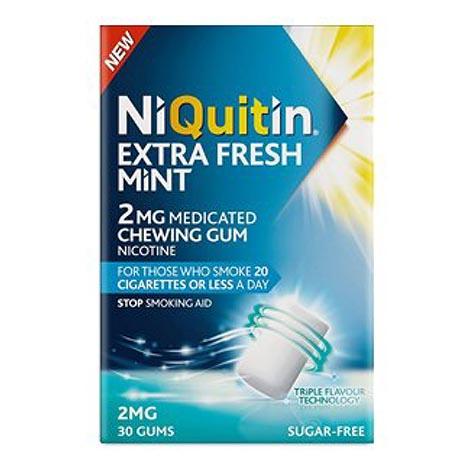 Niquitin triplemint gum 2mg 30pk (5% vat)