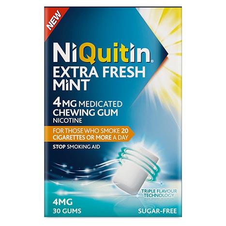 Niquitin triplemint gum 4mg 30pk (5% vat)