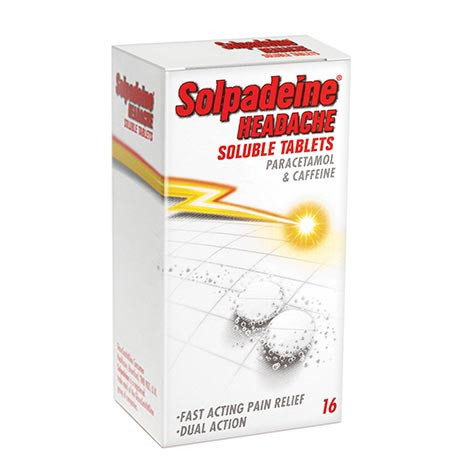 Solpadeine headache soluble tablets 16's