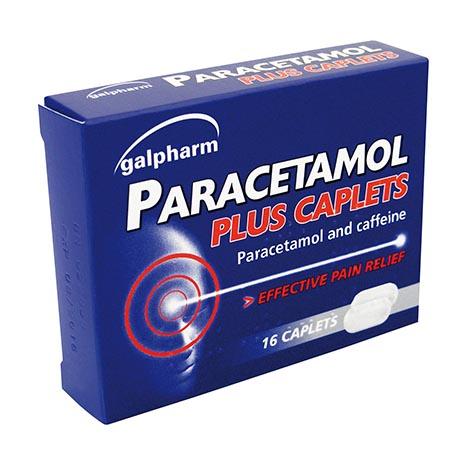Paracetomal plus caplets 16's - 7240