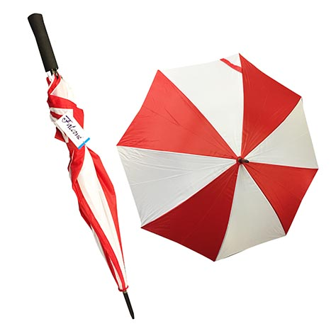 Compact automatic golf umbrella