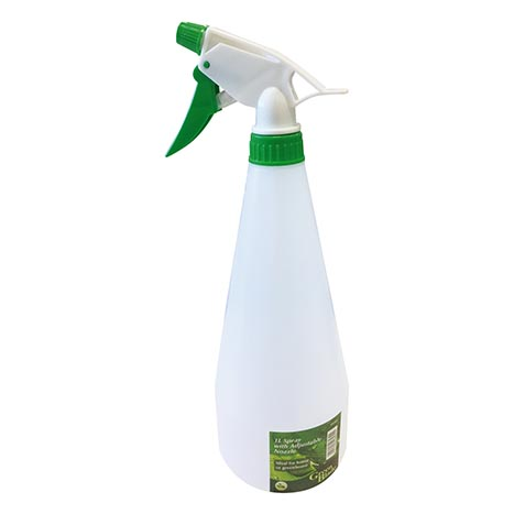 Spray Bottle with Adjustable Nozzle 1L