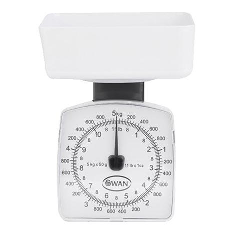 5kg white kitchen scales