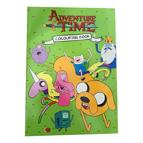 Adventure time colouring pad (zero vat)