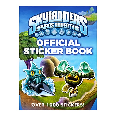 Skylanders official sticker book (zero vat)